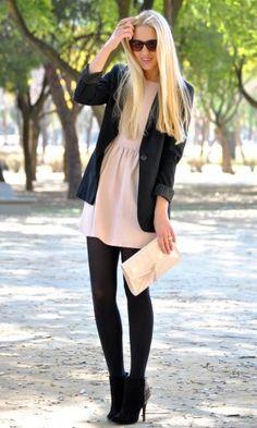 Zara in Dresses 1  H&M in Clutches 2  Zara in Boots 3  Stradivarius in Blazers 4