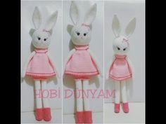 (Amigurumi ) Örgü Oyuncak Büyük Tavşan Yapımı 1 (Crochet Amigurumi Big Rabbit 1) - YouTube
