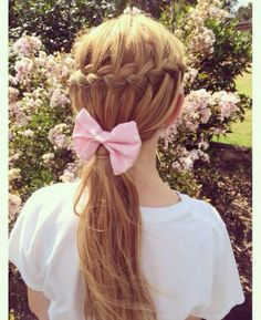 Back to school hairstyle