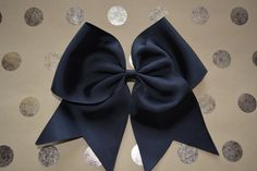 Cheer Bow - Black