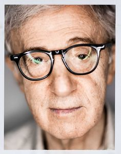 Woody Allen | by Mark Mann