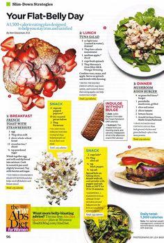 Healthy Meals.  The tuna salad looks really good.
