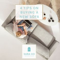 Need a new sofa for your home, but not sure what to look for or where to buy? This blog post highlights what's important to look for in a Sofa based on style, budget, size and color and provides a list of stores that you can check out for purchasing a sofa. Lastly, included is a free printable worksheet that you can download to take with you when you shop! Check it out today! #homedecor #sofa #designtips #freebie