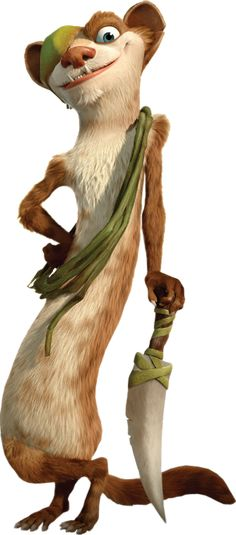 Buck Ice Age 3 Quotes by Dreamworks Animation, Disney Animation, Ice Age Funny, Cartoon Art, Cartoon Characters, Ice Age Sid, Ice Age Collision Course, Ice Age Movies, Blue Sky Studios