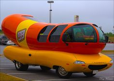 The Oscar Mayer Wienermobile Oscar Mayer, Transportation, Advertising, Signs, Places, Shop Signs, Sign, Signage, Dishes