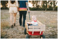 Phelans | family session photos | Eden Day Photography | one year old red wagon radio flyer la jolla eucalyptus