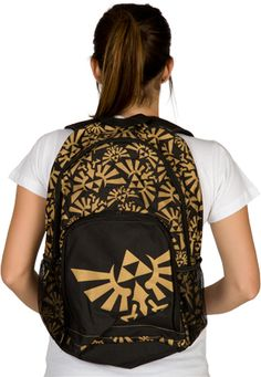 Legend of Zelda Tri-Force Backpack | Fashionably Geek