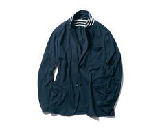 SOPHNET. SS13 Jersey Blazer Jacket Buttons, Adidas Jacket, Japanese, Athletic, Blazer, Jackets, Fashion, Down Jackets, Moda