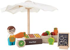 PlanToys Market -- This is an Amazon Affiliate link. You can get more details by clicking on the image.