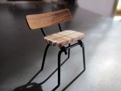 Dollhouse Miniature Unfinsihed Metal Small Spread Eagle