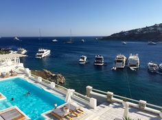 Nissaki Boutique Hotel, Mykonos, Greece...room with a view ☀️