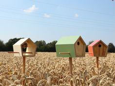 Vogelhaus, Futterhaus, Nistkasten // wooden bird house via DaWanda.com
