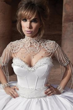 Oved Cohen sexy wedding dress