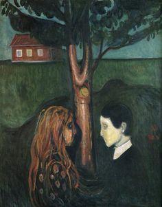 Edvard Munch. Eye in Eye.