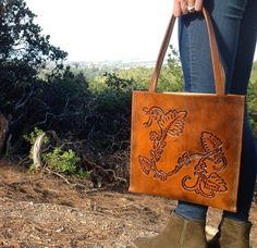 Hand+tooled+leather+tote+bag+by+kingstreetcollars+on+Etsy,+$165.00