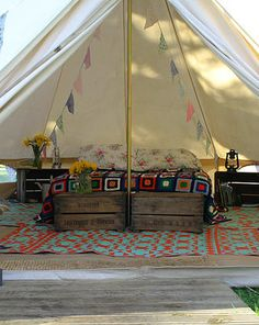 Ambers Bell Tent Camping