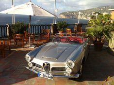 Amalfi Küste Alfa Romeo 2600 Spider | Nostalgic Oldtimerreisen