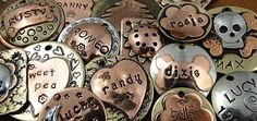 Every pet deserves a little BLING! Island Top Design makes custom pet tags for your pet. They're beautiful and unique. Check them out!
