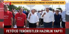 CHP'nin provokatif yürüyüşünün altındaki tezgah deşifre oldu: Kemal Kılıçdaroğlu'nun Ankara'dan İstanbul'a yürüyüşünün aslında sadece toplumda bir kaos oluşturmak için yapıldığı artık apaçık ortaya çıktı.    CHP'ye yakın gazetelerde her gün yapılan haberler ve söylemler aslında bu yürüyüşün uluslararası bir plan olduğu ve bunu yapanların da birer figüran olduğu gerçeği bir kez daha deşifre oldu. Yürüyüş adı altında gerçekleştirilen provokasyona eli kanlı terör örgütü PKK, gezi terörizmine…