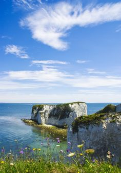 Old Harry Rocks, Dorset, England. Can't wait for the summer to get out there on the kayaks! Dorset England, England Ireland, England Uk, Pictures Of England, Harry Rocks, Dorset Coast, Jurassic Coast, English Countryside, Destinations