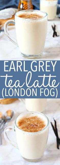 Earl Grey Vanilla Tea Latte (London Fog) – You are in the right place about black tea recipes Here we offer you the most beautiful pictures about the tea recipes vegan you are looking for. When you examine the Earl Grey Vanilla Tea Latte (London Fog) – … Yummy Drinks, Healthy Drinks, Healthy Food, Nutrition Drinks, Healthy Recipes, Vegetarian Recipes, Disney Cocktails, Vanilla Tea, Breakfast