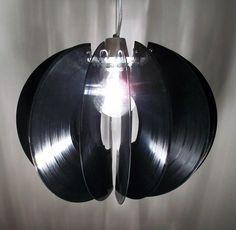 Skip - Vinyl Record Pendant Light