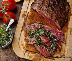 Brazilian Grilled Flank Steak Recipe - RecipeChart.com