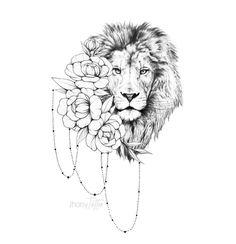 Riley instead of lions head - tatoo feminina Lion Head Tattoos, Leo Tattoos, Future Tattoos, Animal Tattoos, Body Art Tattoos, Small Tattoos, Sleeve Tattoos, Tattos, Tattoo Sketches