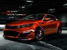 Kia optima sexiness!
