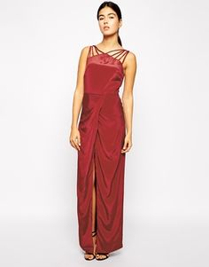 $41 prom dress... nice! Same shape as the other grey metallic one yet this looks like a satin. Old time look. Strappy heel
