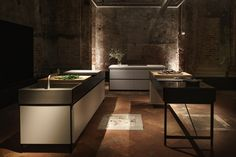 Bulthaup kitchens to sip your coffee in