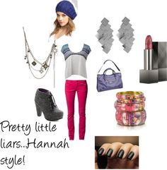 """Hannah pretty little liars"" by cayenne17 on Polyvore"