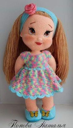 Lovely Amigurumi Doll, Animal, Plant, Cake and Ornaments Pattern Ideas. Page 100 - Amigurumi Animal Cake cartoon doll Ideas lovely Ornaments page PATTERN Plant - DiyForYou Knitted Dolls, Crochet Dolls, Crochet Baby, Free Crochet, Crochet Doll Pattern, Crochet Patterns Amigurumi, Amigurumi Doll, Amigurumi Tutorial, Crochet Crafts