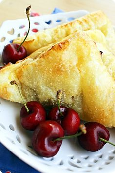 The Comfort of Cooking » Bing Cherry Turnovers