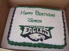 #Eagles cake. Thanks for sharing!