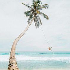 Ocean Swing in Sri Lanka Photo by @doyoutravel