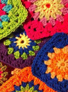 crochet sunshine