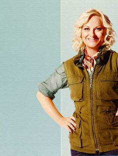 Leslie Knope (Amy Poehler)  Parks and Recreation