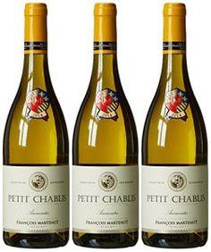 FRANÇOIS MARTENOT France Burgundy Vin Les Ammonites AOC Petit Chablis 2014 75 cl – Lot de 3