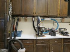 Economical Dust Collection System for a Small Home Workshop - by Aggie69 @ LumberJocks.com ~ woodworking community