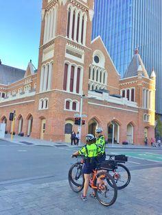 https://flic.kr/p/S8Rh84 | Perth City Police bicycle patrol - Western Australia