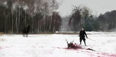 JAKUB ROZALSKI : Photo I love the huge scale of this painting it so crazy!