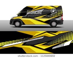 Cargo van decal, truck and car wrap vector, Graphic abstract stripe designs for wrap branding vehicle Source by sileann Remote Control Boat, Van Wrap, Cargo Van, Drifting Cars, Car Tuning, Stripes Design, Black Vans, Rally, Branding