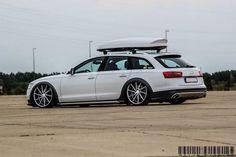 "vossenwheels: "" Drop it low. Audi All-Road sitting nicely on Vossen CVT's """