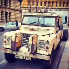 "A ""well used"" Series III Land Rover #LandRoversofLondon #LandRover #SeriesLandRover #SeriesIII #SeriesIIILandRover #LandRoverDefender #Defender #defender90 #rangerover #discovery #landy #offroad #bespoke #chelseatractor #4x4 #London #England"