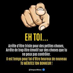 Mode Blog, Text Pictures, French Quotes, Business Motivation, Morals, Positive Life, True Words, Positive Affirmations, Life Lessons