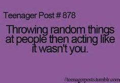 yes...its awesome when they blame someone else like your friend for it and you just cant help but laugh :)