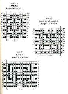 Mosaic Knitting Barbara G. Walker (Lenivii gakkard) Mosaic Knitting Barbara G. Walker (Lenivii gakkard) #112