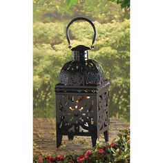BLACK MEDALLION LANTERN Store wide sale, free gift with every order till Dec. 1st!