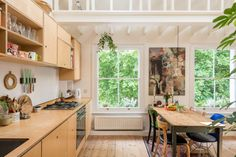 Charming London revamp brings the sun right in - Curbedclockmenumore-arrow : The compact apartment does not shy away from life